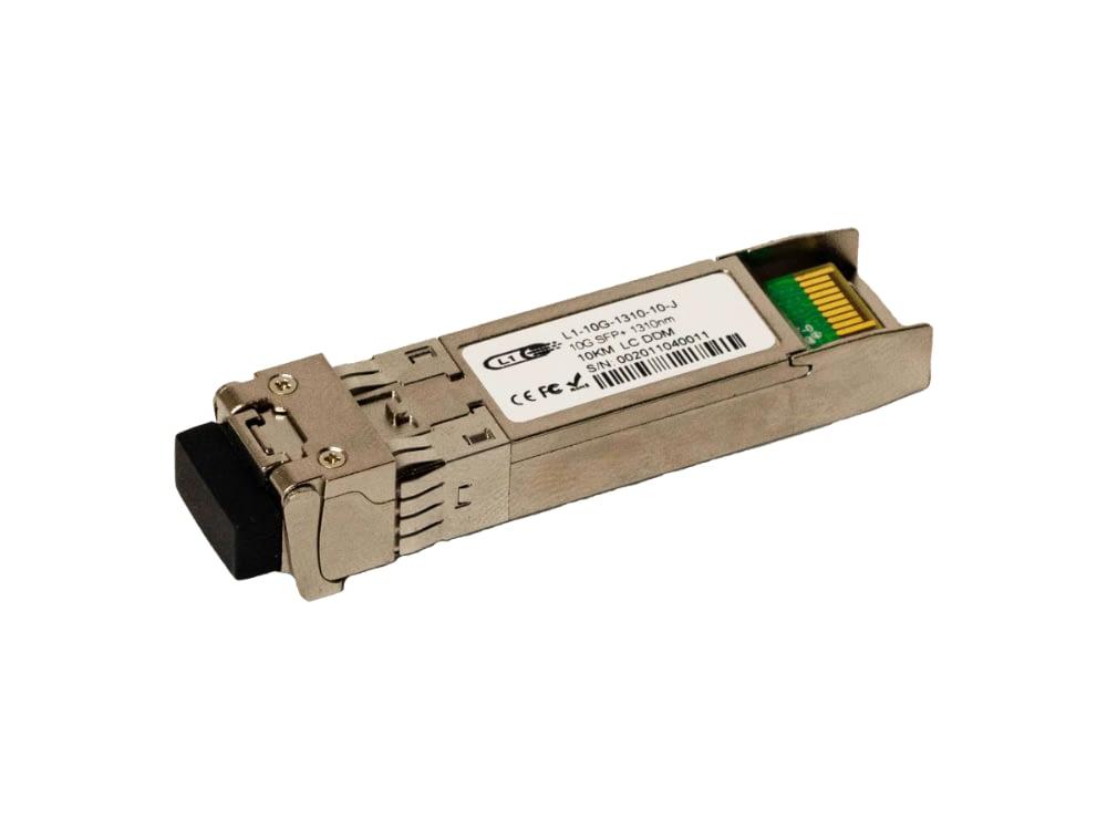 L1-10G-1310-10 Compatible 10G SFP+ 10km DOM Transceiver Module