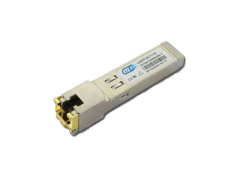 L1-1G-SFP-100m-C Compatible 1G SFP+ 100m Koper RJ-45 Transceiver Module