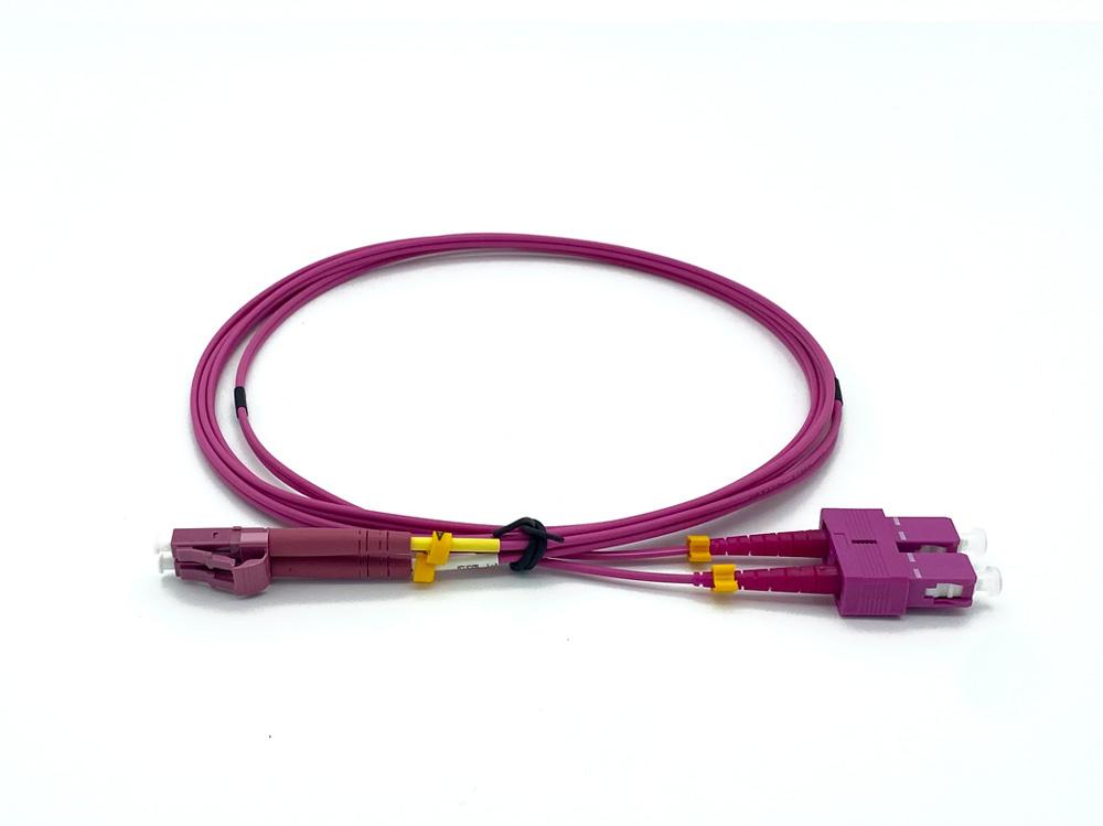 Duplex Patch Kabel | LC/UPC naar LC/UPC Multimode | Dikte 2.0mm