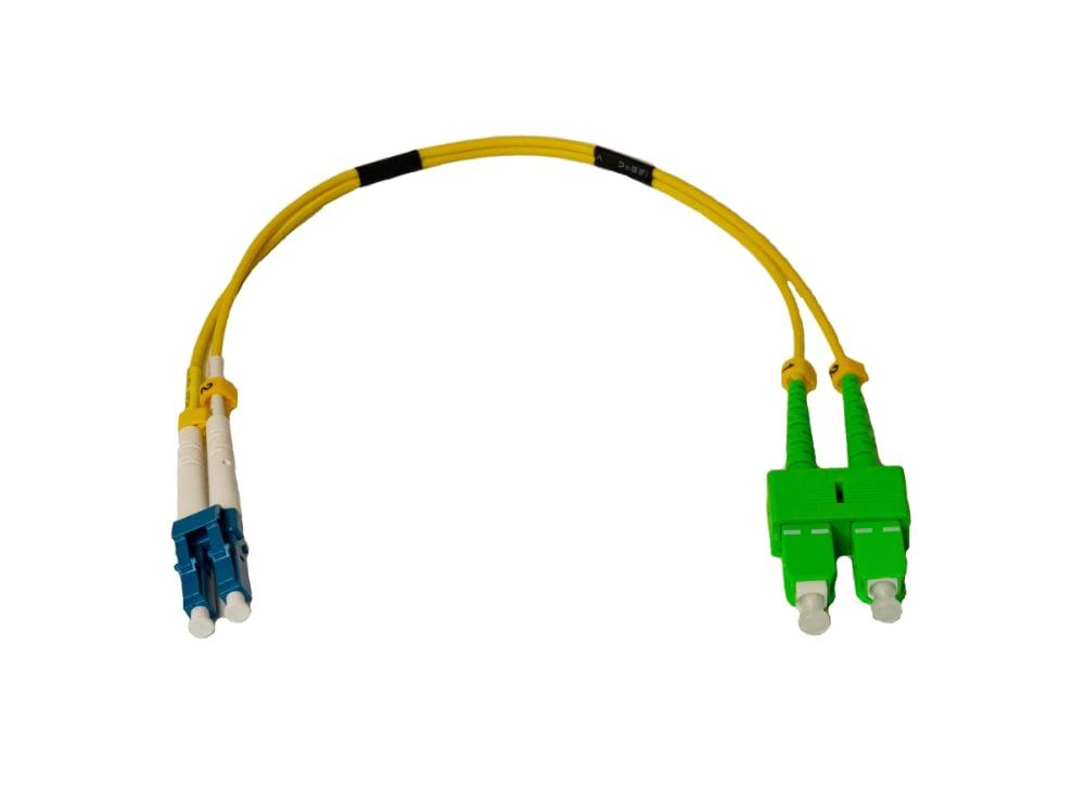 Duplex Patch Kabel | LC/UPC naar SC/APC | Dikte 2.0mm LSZH